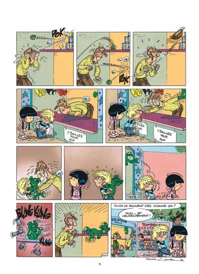Page 9 cédric tome 8 - comme sur des roulettes