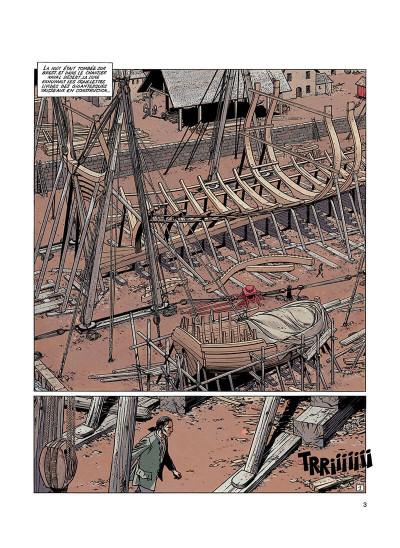 Page 2 l'épervier tome 2 - le rocher du crâne