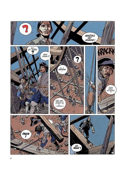 Page 3 l'épervier tome 2 - le rocher du crâne