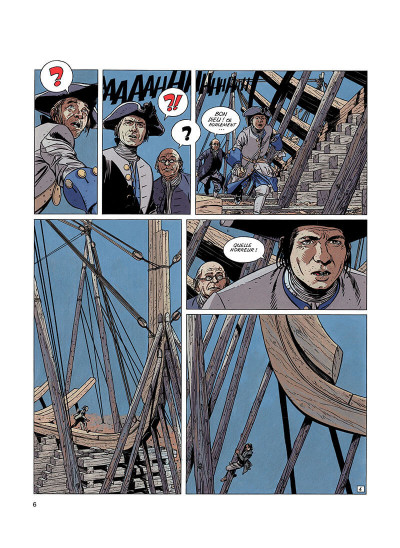 Page 5 l'épervier tome 2 - le rocher du crâne
