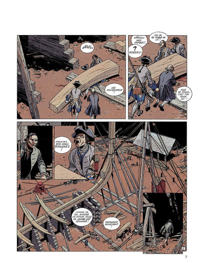 Page 6 l'épervier tome 2 - le rocher du crâne