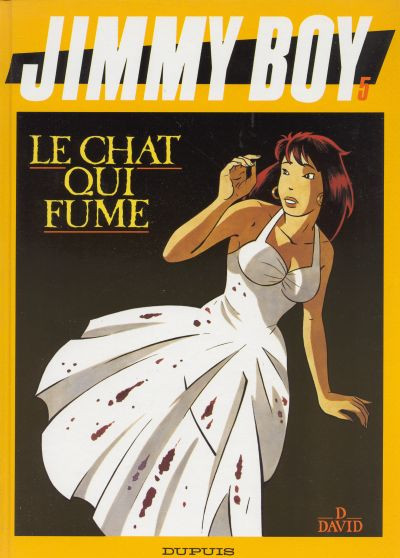 Couverture Jimmy Boy tome 5 - le chat qui fume