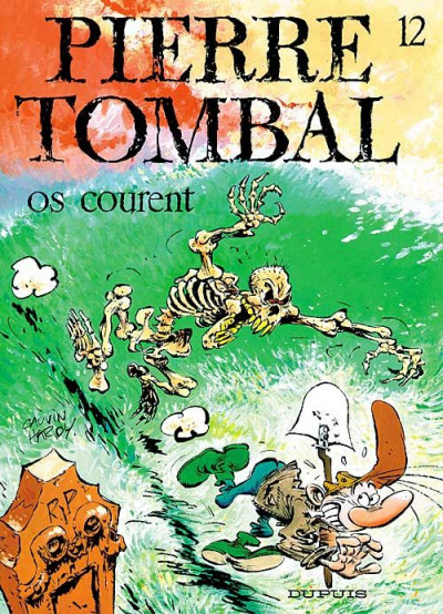 Couverture pierre tombal tome 12 - os courent