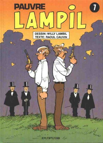 Couverture Pauvre Lampil tome 7