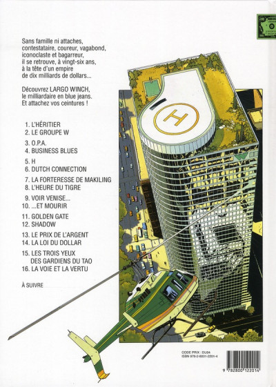 Dos largo winch tome 6 - dutch connection