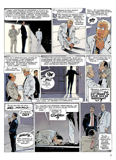 Page 4 largo winch tome 6 - dutch connection