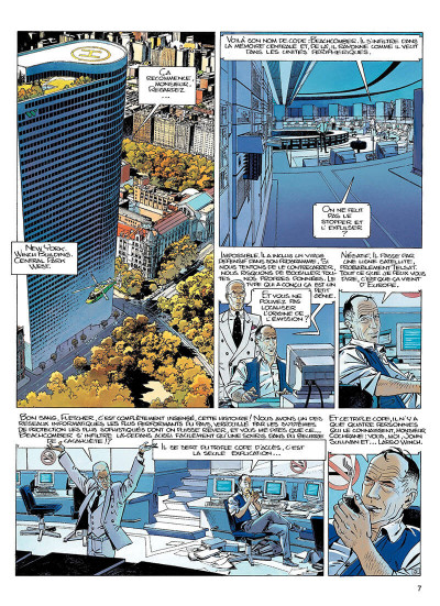 Page 6 largo winch tome 6 - dutch connection