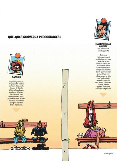 Page 9 le petit spirou tome 6 - n'oublie pas ta capuche