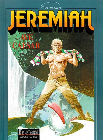 Couverture jeremiah tome 18 - ave caesar