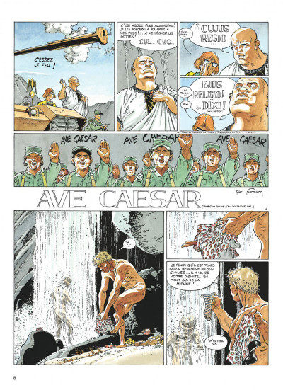 Page 8 jeremiah tome 18 - ave caesar
