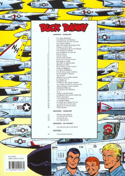Dos buck danny tome 46 - l'escadrille fantôme