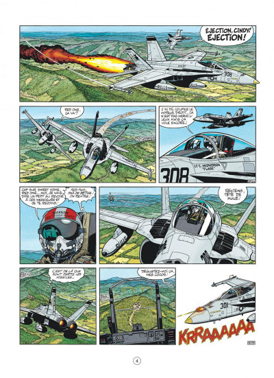 Page 4 buck danny tome 46 - l'escadrille fantôme