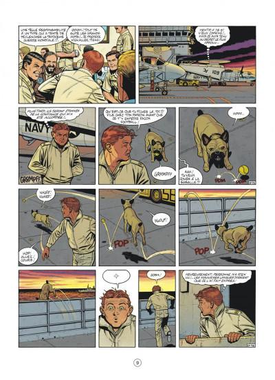 Page 9 buck danny tome 46 - l'escadrille fantôme