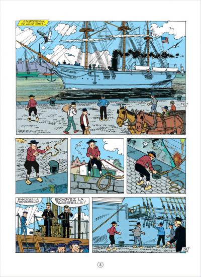 Page 3 les tuniques bleues tome 37 - duel dans la manche
