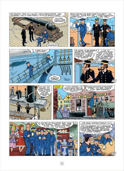 Page 5 les tuniques bleues tome 37 - duel dans la manche