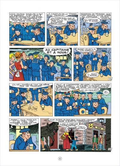 Page 6 les tuniques bleues tome 37 - duel dans la manche
