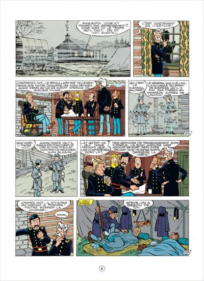 Page 8 les tuniques bleues tome 37 - duel dans la manche