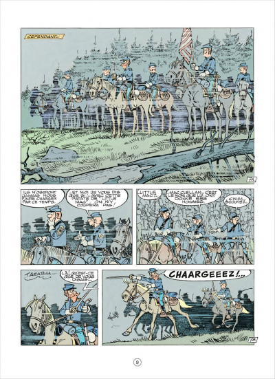 Page 9 les tuniques bleues tome 37 - duel dans la manche