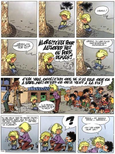 Page 1 cédric tome 9 - parasite sur canapé