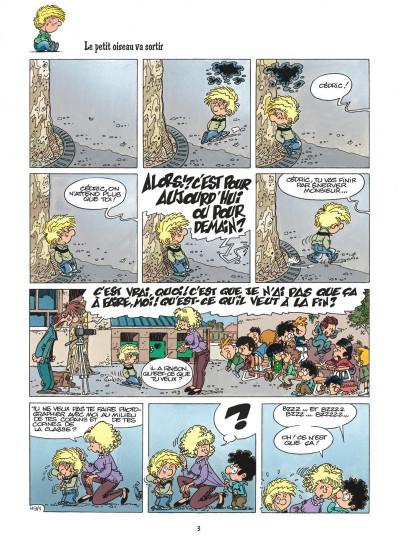 Page 3 cédric tome 9 - parasite sur canapé