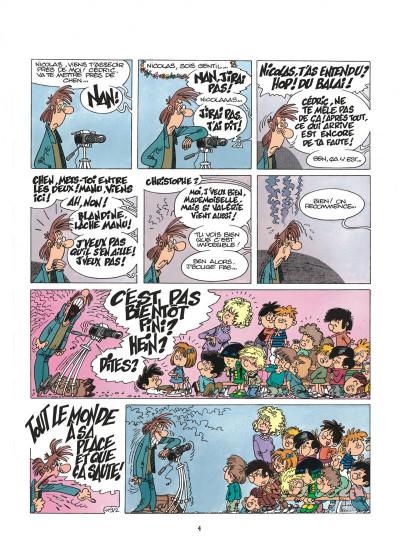 Page 4 cédric tome 9 - parasite sur canapé