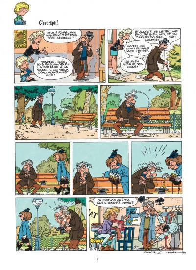 Page 7 cédric tome 9 - parasite sur canapé