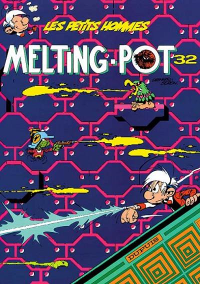 Couverture Les petits hommes tome 32 - melting-pot