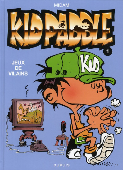 Couverture Kid Paddle tome 1