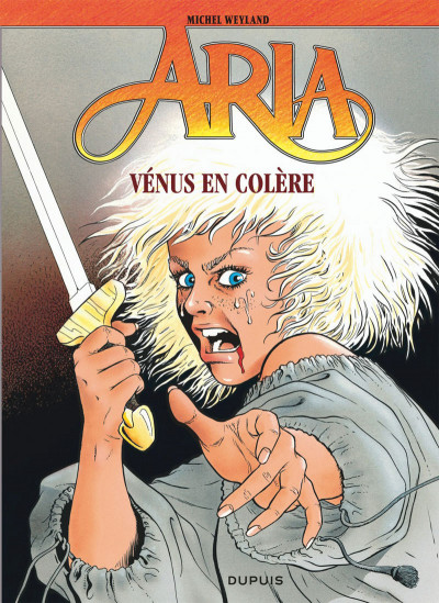 Couverture aria tome 18 - vénus en colère