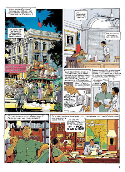 Page 2 largo winch tome 7 - forteresse de makiling