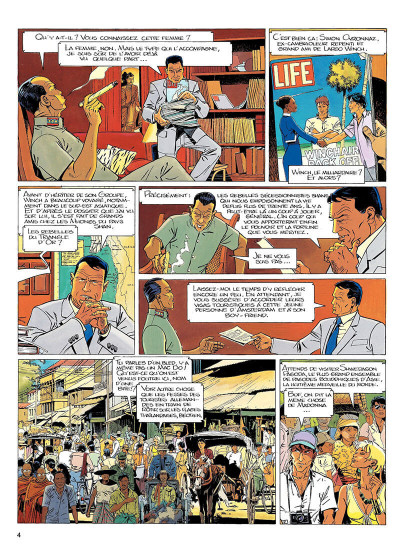 Page 3 largo winch tome 7 - forteresse de makiling