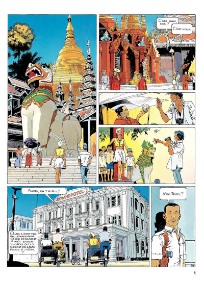 Page 4 largo winch tome 7 - forteresse de makiling