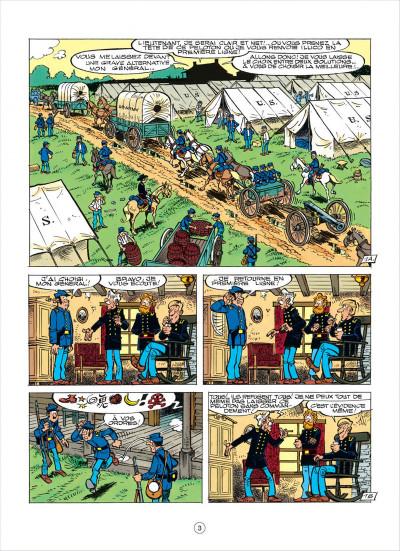 Page 3 les tuniques bleues tome 38 - les planques