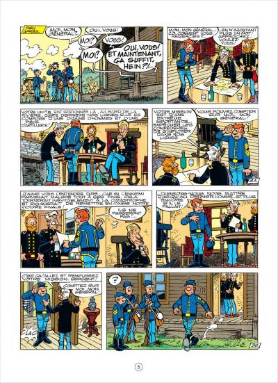 Page 5 les tuniques bleues tome 38 - les planques