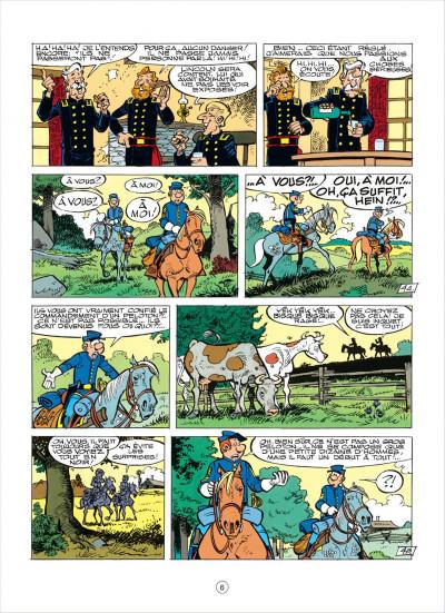 Page 6 les tuniques bleues tome 38 - les planques