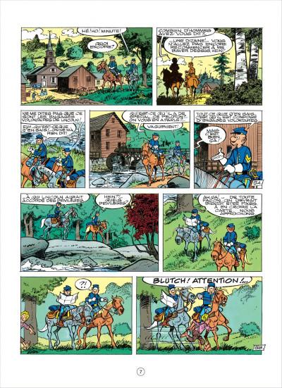 Page 7 les tuniques bleues tome 38 - les planques