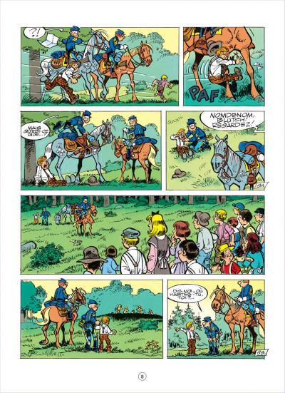 Page 8 les tuniques bleues tome 38 - les planques