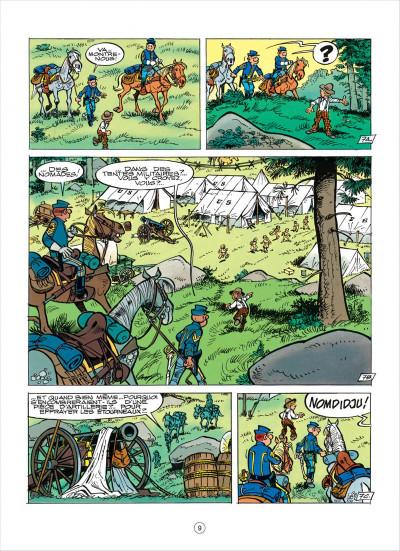 Page 9 les tuniques bleues tome 38 - les planques