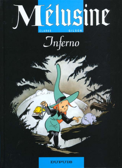 Couverture mélusine tome 3 - inferno
