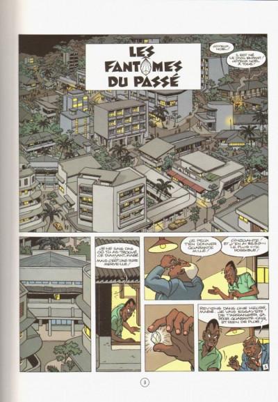 Page 1 Jimmy Tousseul tome 9 - les fantômes du passé