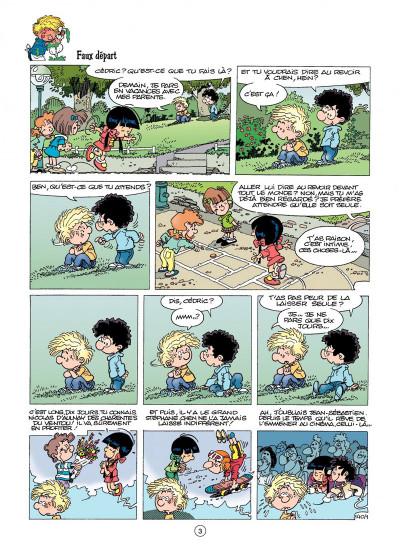 Page 1 cédric tome 10 - gâteau surprise