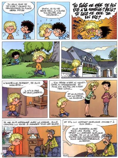 Page 2 cédric tome 10 - gâteau surprise