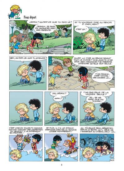 Page 3 cédric tome 10 - gâteau surprise