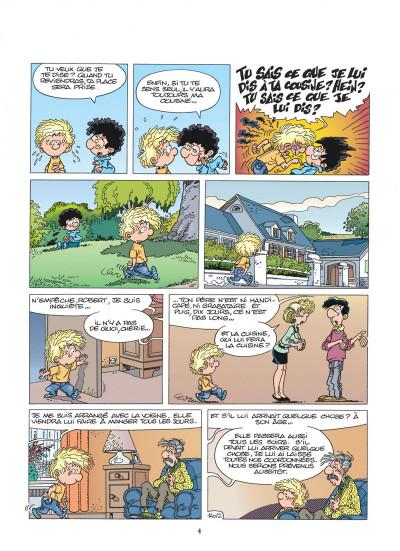 Page 4 cédric tome 10 - gâteau surprise
