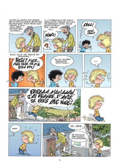 Page 6 cédric tome 10 - gâteau surprise