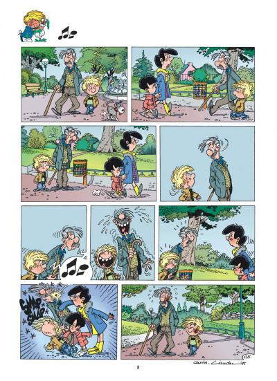 Page 8 cédric tome 10 - gâteau surprise