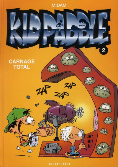 Couverture Kid Paddle tome 2