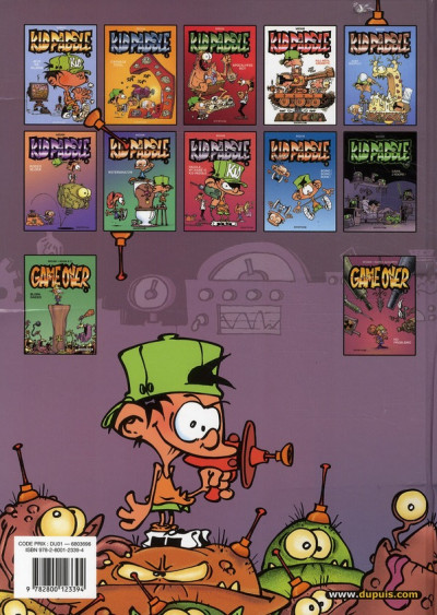 Dos Kid Paddle tome 2