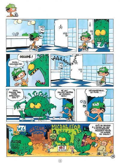 Page 6 Kid Paddle tome 2