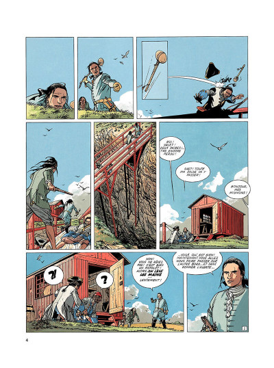 Page 3 l'épervier tome 3 - tempête sur brest